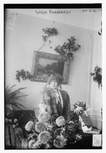 Sarah Bernhardt in New York City [December 1, 1912].