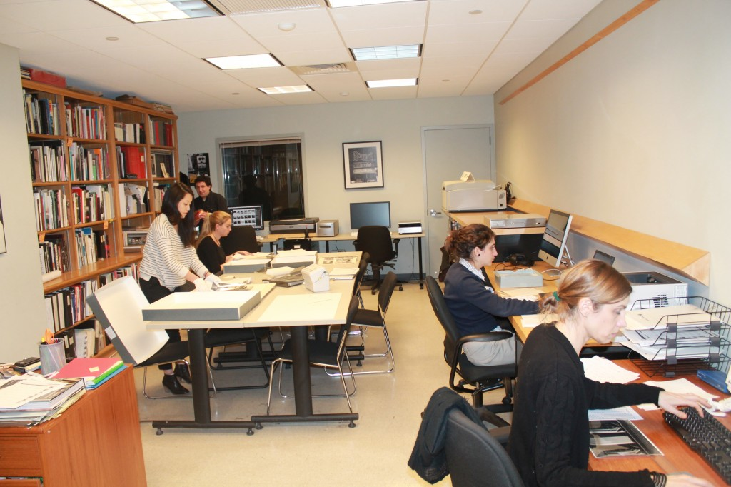 The ICP archive and reading room.