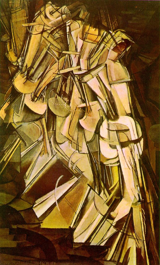 Marcel Duchamp's Nude Descending a Staircase (1911)