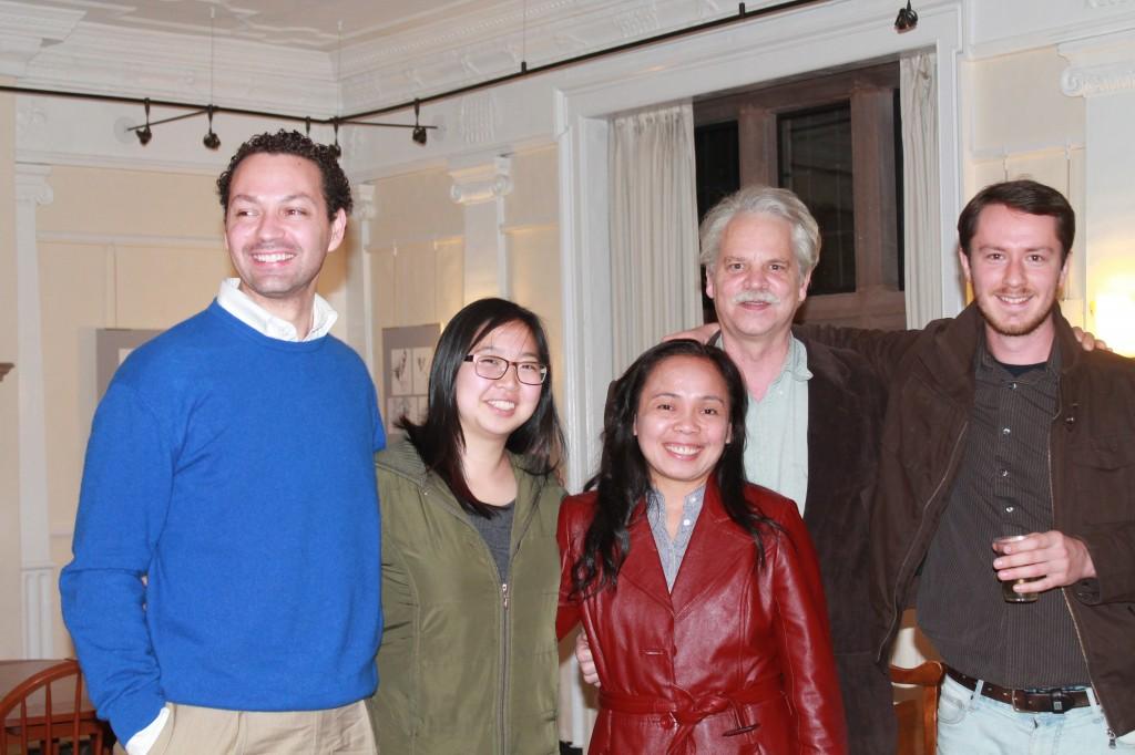 Max Tellini, Eunju Namkung, Threese Serana, Charlie Musser, Andrey Tolstoy.