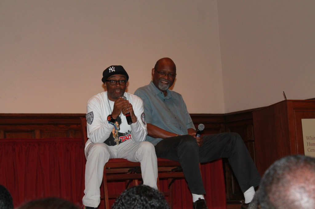 Spike Lee and Sam Pollard discuss their collaborative working relationship