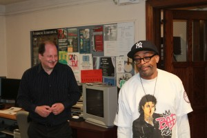 Tony Sudol and Spike Lee