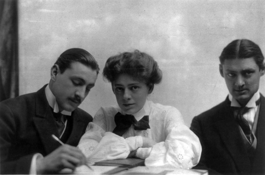 John, Ethel and Lionel Barrymoew